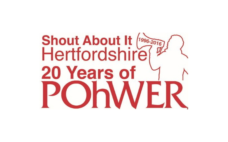 Shout About It Hertfordshire Celebrating 20 Years Of POhWER