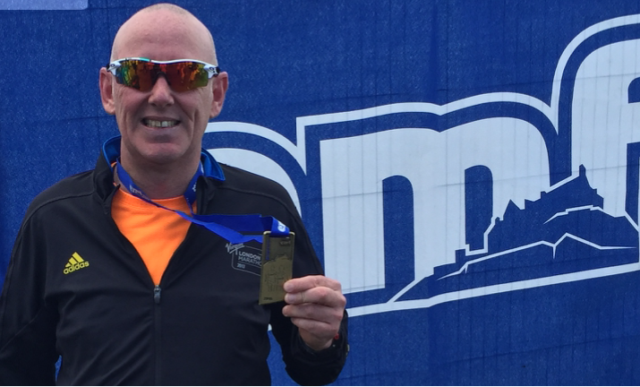 Another Marathon Notch For Tollers Managing Partner