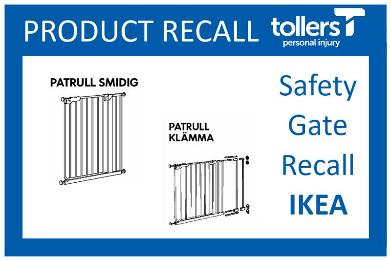 Ikea Stair Safety Gates Cause Injury