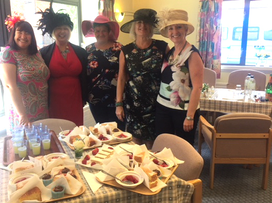 Hats On For Cake And Fizz At The Races