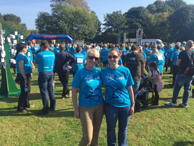 Tollers Support Memory Walks