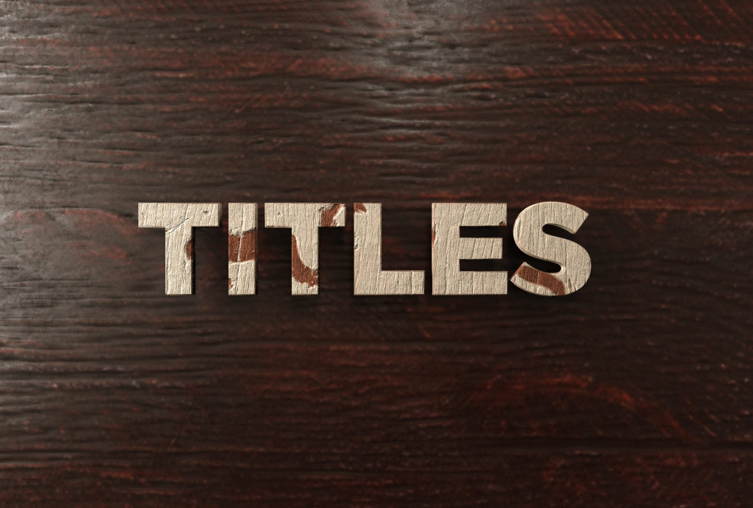 Retention of Title