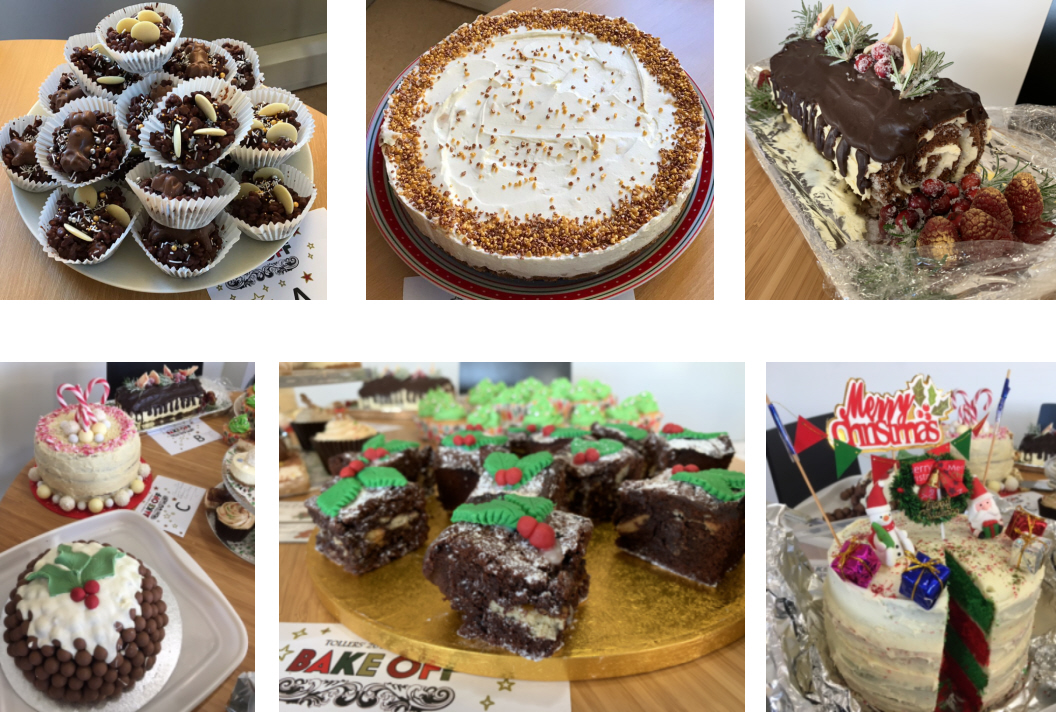 Tollers Christmas Bake Off 2019