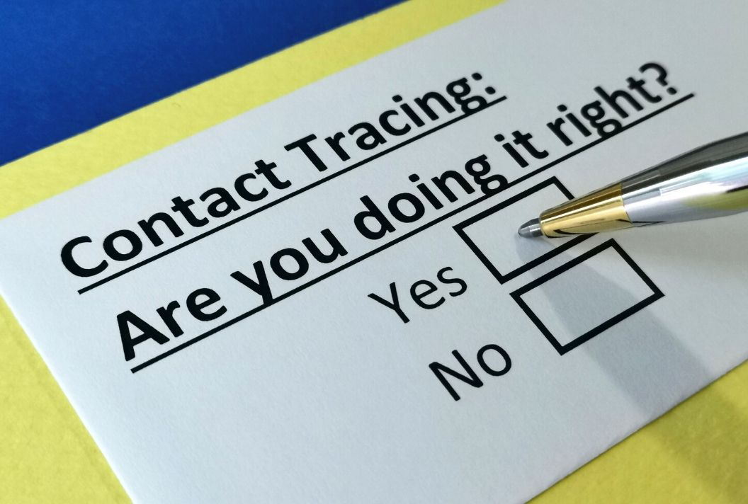 Collecting contact information for contact tracing – COVID 19